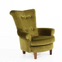 Tilly zöld fotel - Max Winzer