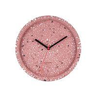 Tom rózsaszín falióra, ⌀ 26 cm - Karlsson