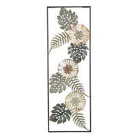 Too Natura természet motívumos fali dekoráció vasból - Mauro Ferretti