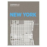 Transparent City New York írható térkép - Palomar