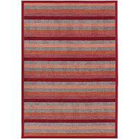 Treski Red piros kétoldalas szőnyeg, 80 x 250 cm - Narma