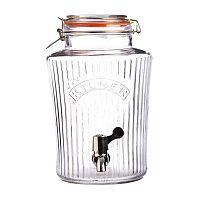 Vintage csatos üvegtartály csappal, 8 l - Kilner