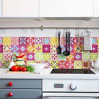 Wall Stickers Cement Tiles Heloisa 30 db-os falmatrica szett, 10 x 10 cm - Ambiance