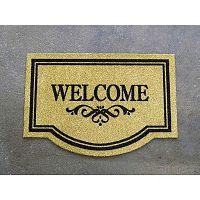 Welcome Home Natural lábtörlő, 45 x 65 cm - Hanse Home