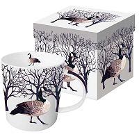 Winter Goose Gris porcelán bögre karácsonyi motívummal, díszdobozban, 350 ml - PPD