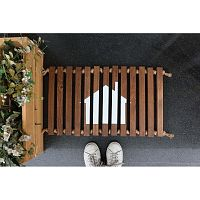 Woodie fa lábtörlő, 64 x 40 cm - Doormat
