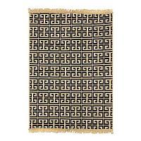 Ya Rugs Tee kék szőnyeg, 60 x 90 cm