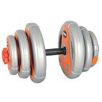 Cementes egykezes súlyzó szett inSPORTline 3-18 kg