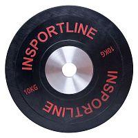 Gumis súlytárcsa inSPORTline Bumper Plate 10 kg