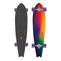 Longboard Street Surfing Fishtail - Sunset Blur 42