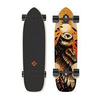 Longboard Street Surfing Freeride Owl 36