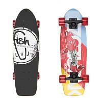 Mini longboard Fish Old School Cruiser Szczupak 26