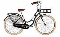Női városi kerékpár Kellys Royal Dutch Black