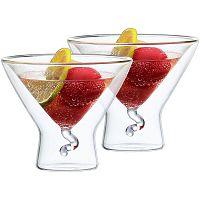 4home Martini Elegante HotCool thermo pohár, 200 ml, 2 db