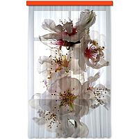 AG ART Flowers függöny, 140 x 245 cm