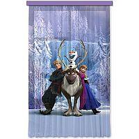 AG ART Frozen - Jégvarász gyerek függöny, 140 x 245 cm