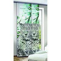 Albani Titan függönypanel, zöld, 245 x 60 cm