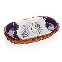 Banguet Lavender tálalótál készlet kosárba 30,5 cm