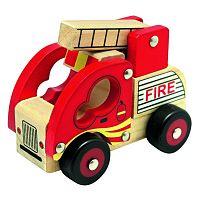 Bino Fa tűzoltóautó, piros