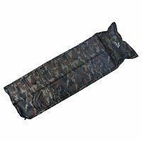 Cattara Önfelfújódó camping matrac Navy párnával