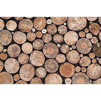 Domarex LiveLaugh Wooden lábtörlő, 40 x 60 cm