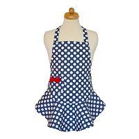 Elegancia a konyhában, Gyermek kötény, kék, 47 x 53 cm