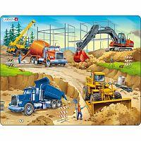 Larsen Puzzle Az építkezésen, 30 darab