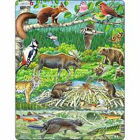 Larsen Puzzle Északi erdők, 45 darab