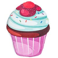 Mentolos, színes cukorszórásos torta formázottpárna, 43 x 38 cm
