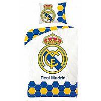 Real Madrid 5013 pamut ágynemű, 140 x 200 cm, 70 x 90 cm
