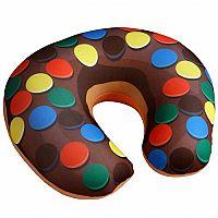Utazópárna Donut smarties, 30 x 30 cm