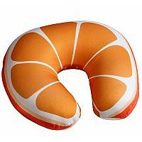 Utazópárna Narancs, 30 x 30 cm