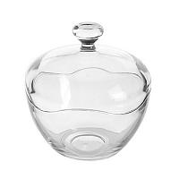 Üveg cukortartó tetővel, orion 153519