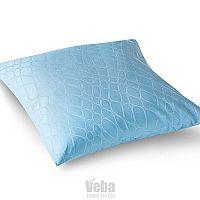 Veba damaszt párnahuzat GEON Kígyóbőr kék, 40 x 40 cm