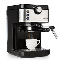 Klarstein BellaVita Espresso, kávéfőző, 20 bar, 1575 W, 900 ml, ezüst