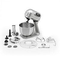 Klarstein Curve Plus, konyhai robotgép, 5 l, 4 az 1-ben húsdaráló tartozék, ezüst