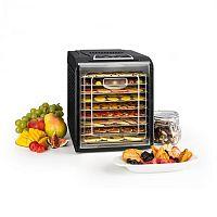 Klarstein Fruit Jerky 9 gyümölcsszárító gép, időzítő, 9 polc, 600-700 W, 600-700 W, fekete