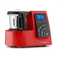 Klarstein Kitchen Hero 9-in-1, piros, 2 l, 600/1300 W, hővel kezelő konyhai robotgép