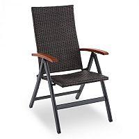 Blumfeldt Korsika összecsukható szék kartámlával, 58,5x103x75 cm