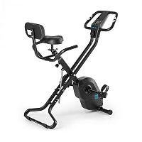 Capital Sports Azura X1 X-bike szobakerékpér, max. 120 kg, pulzusmérő, összecsukható, 4 kg, fekete