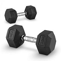 Capital Sports Hexbell 17,5, 17,5kg, két kézi súlyzó (dumbbell)