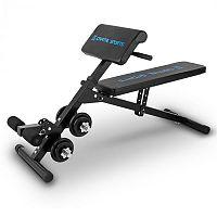 Capital Sports Sit'n Curl, Sit Up pad súlyzókészlettel
