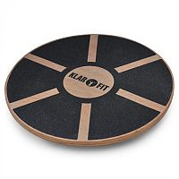 Klarfit BRD2, Balance Board,<150kg, 37,5cm átmérő, fa