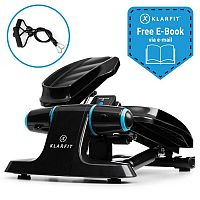 Klarfit Galaxy Step, mini taposógép, prémium taposó felület, LCD kijelző, fekete/kék
