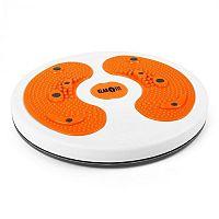 Klarfit myTwist Body Twister, lábmasszázsgép, narancssárga