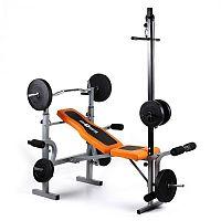 Klarfit Ultimate Gym 3500, tornagép, súlyzópad, latissimus