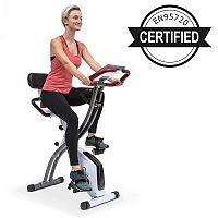 Klarfit X-Spline, otthoni edzőgép, rugalmas húzókötelek, szíjmeghajtás, fehér
