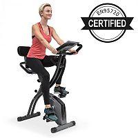 Klarfit X-Spline, otthoni edzőgép, rugalmas húzókötelek, szíjmeghajtás, fekete