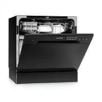 Klarstein Amazonia 8, mini mosogatógép, A+, 1620 W, fekete