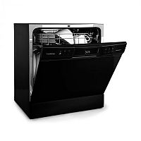Klarstein Amazonia 8 Neo, mosogatógép, 8 program, LED kijelző, fekete